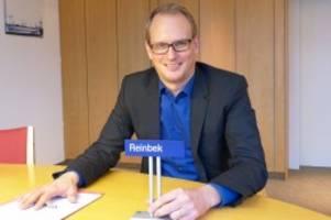 Kandidatur: Björn Warmer will Reinbeks Bürgermeister bleiben