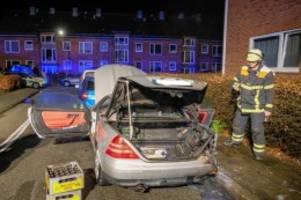 hamburg: feuerwehr verhindert weitere autobrände in billstedt