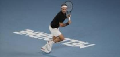 1. runde australian open: nimmt federer die erste hürde?