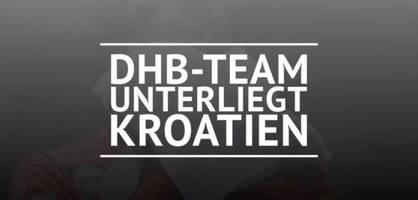 dhb-team unterliegt kroatien