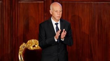 tunesien: präsident saied beauftragt früheren minister fakhfakh mit regierungsbildung