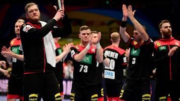 Europameisterschaft: Deutschlands Handballer wollen sich nicht hängen lassen
