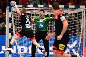 Handball-EM 2020 - Spielplan, TV-Termine, Zeitplan: Wann spielt Deutschland gegen Tschechien?