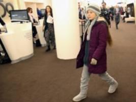Weltwirtschaftsforum: Klima-Aktivistin Greta Thunberg tritt beim Weltwirtschaftsforum in Davos auf