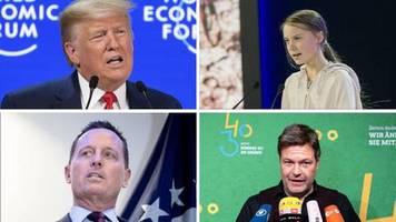 Weltwirtschaftsforum: Trump gegen Greta, Grenell gegen Habeck: der Tag der (Fern-)Duelle in Davos