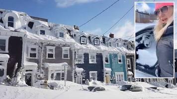 Absoluter Ausnahmezustand: Ostküste Kanadas versinkt in Schneemassen – Bewohner teilen Aufnahmen im Netz