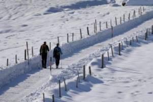 kein schnee in sicht: wann wird's mal wieder richtig winter?