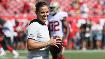 San Francisco 49ers: Katie Sowers steht als erste Trainerin im Super Bowl – und als erste Homosexuelle