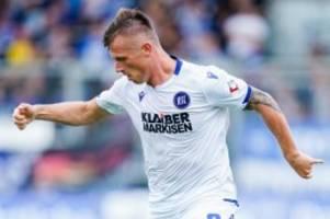 Fußball: Braunschweig leiht Karlsruher Pourié bis zum Sommer aus