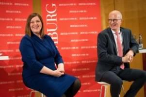 Bürgerschaftswahl: Trotz Höhenflug: SPD hält Grüne in Hamburg auf Distanz