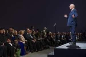 bilder gehen um die welt: gemeinde davos: wef-treffen hat großen werbewert