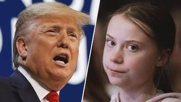 Weltwirtschaftsforum: Trump und Thunberg sticheln in Davos gegeneinander