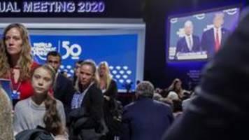 Kommentar: Trump und Thunberg haben in Davos Chance verpasst