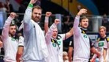 Handball-Europameisterschaft: Deutschland gewinnt sein letztes Hauptrundenspiel gegen Tschechien