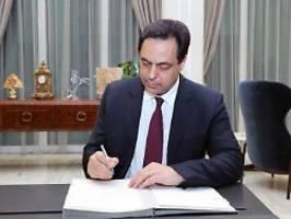 zeit, an die arbeit zu gehen: libanon stellt neue regierung vor