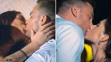 der bachelor: einer knutscht immer mehr: der bachelor küsst gleich zwei frauen