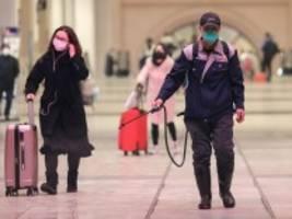 Coronavirus: China kappt alle Verbindungen von und nach Wuhan
