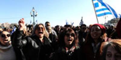 Generalstreik auf griechischen Inseln: Protest gegen überfüllte Lager