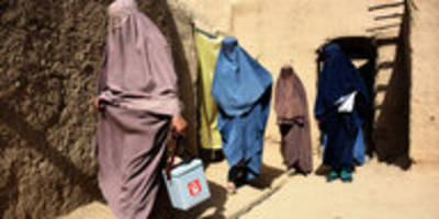 kinderlähmung in afghanistan: krieg gegen die krankheit