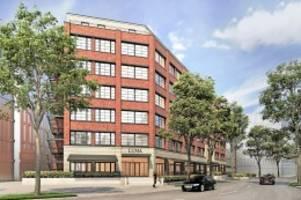 hamburg : winterhude: verlagsgebäude wird zum apartment-hotel