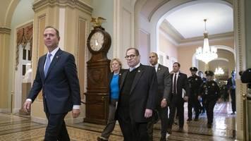 republikanische mehrheit steht: us-senat beschließt prozedere für trump-impeachment