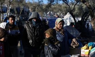 Generalstreik auf griechischen Inseln wegen Migrantenlager