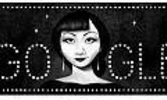 google doodle - anna may wong war der erste hollywood-star mit chinesischen wurzeln