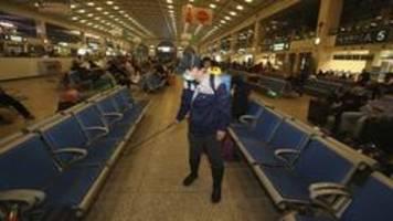 Coronavirus: China kappt Transport-Verbindungen nach Wuhan