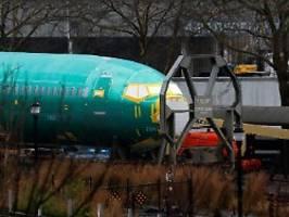 737-max-produktion vor sommer?: boeing stoppt pläne für neues flugzeug