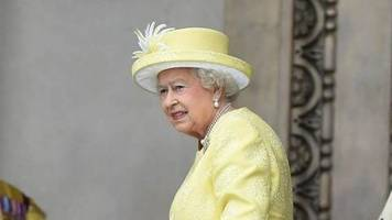 queen elizabeth ii.: wegen erkältung keine termine
