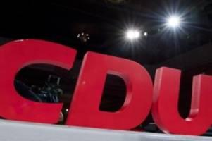 Parteien: CDU Berlin-Mitte widerruft Aufnahme von AfD-nahem Mitglied