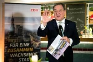 Bürgerschaft: Laschet stimmt Hamburger CDU auf Wahlkampf bis zuletzt ein