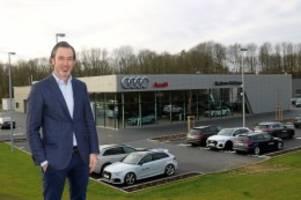 Fleestedt: Neues Audi-Zentrum erprobt weltweit einmaliges Design