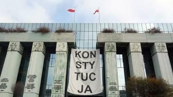 Justizreform: Umstrittenes Gesetz zur Richter-Disziplinierung passiert Polens Parlament