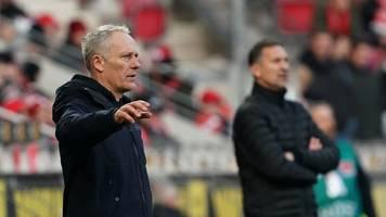Freiburg-Coach hofft auf außergewöhnliche Ausgangsposition