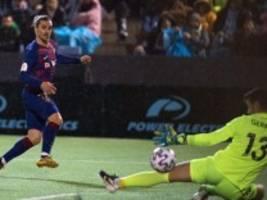 fußball international: griezmanns tore retten barcelona vor der blamage