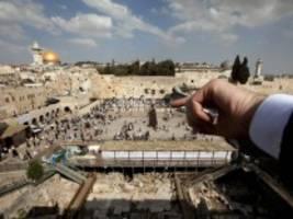 Nahost-Konflikt: Trump will seinen Friedensplan vor Dienstag vorlegen