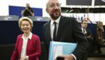 Großbritannien: Von der Leyen und Michel unterschreiben Brexit-Abkommen