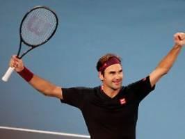 100. Sieg bei Australian Open: Federer wendet frühes Knockout-Déjà-vu ab