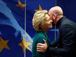 Unsere Freundschaft bleibt: Von der Leyen und Michel segnen Brexit ab