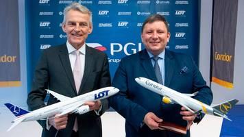 Bieterverfahren um Ferienflieger: Mit LOT soll Condor wieder ein Zukunft haben