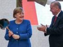 Merkel erinnert Erdogan an die Wissenschaftsfreiheit