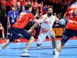 Kroatien schlägt Norwegen und steht im Handball-EM-Finale