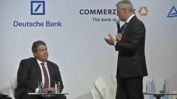 Video: Deutsche Bank holt Sigmar Gabriel in den Aufsichtsrat
