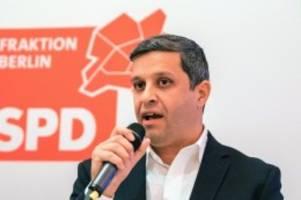Parteien: SPD-Fraktionschef Saleh: Berlin braucht klugen Umweltschutz