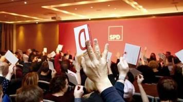 Große Mehrheit beim Parteitag: SPD votiert für das Wagnis Minderheitsregierung in Thüringen