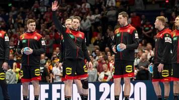 Spiel um Platz fünf: Handball-EM: So sehen Sie das letzte Deutschland-Spiel live