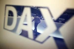 börse in frankfurt: dax auf erholungskurs