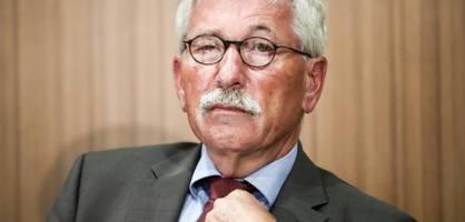 Ex-Finanzsenator Thilo Sarrazin will in Berufung gehen