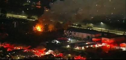 Polizei evakuiert Häuser nach Explosion in Houston